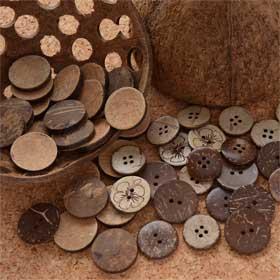 貝以外の天然素材